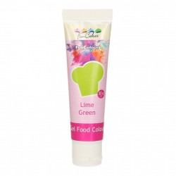 Grön pastafärg på tub (Lime Green - FC)