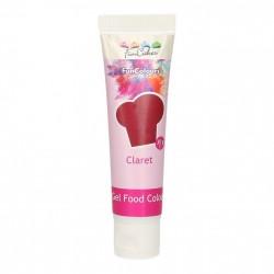 Vinröd pastafärg på tub (Claret - FC)