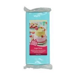 Blå sockerpasta m vaniljsmak, 1 kg (Baby Blue)