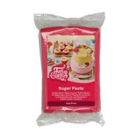 Rosa sockerpasta m vaniljsmak, 250g (Hot Pink)