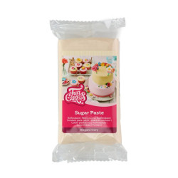Elfenben sockerpasta m vaniljsmak, 250g (Elegant Ivory)