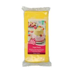 Gul sockerpasta m vaniljsmak, 1 kg (Mellow Yellow)