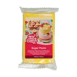 Gul sockerpasta m vaniljsmak, 250g (Mellow Yellow)