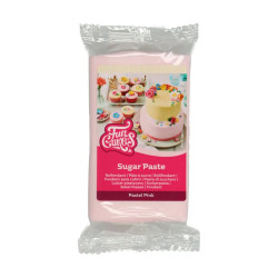 Rosa sockerpasta m vaniljsmak, 250g (Pastel Pink)
