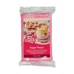 Rosa sockerpasta m vaniljsmak, 250g (Pretty Pink)