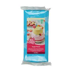 Blå sockerpasta m vaniljsmak, 1 kg (Sea Blue)