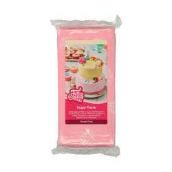 Rosa sockerpasta m vaniljsmak, 1 kg (Sweet Pink)