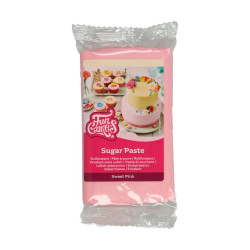 Rosa sockerpasta m vaniljsmak, 250g (Sweet Pink)