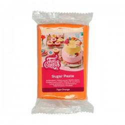 Orange sockerpasta m vaniljsmak, 250g (Tiger Orange)