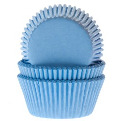 Light Blue, 50 st muffinsformar