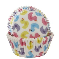 Bath Ducks, 50 st muffinsformar