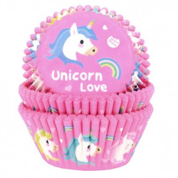 Unicorn Love, 50 st muffinsformar