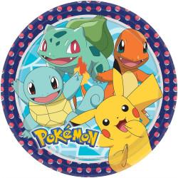Pokemon, 8 st tallrikar
