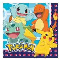 Pokemon, 16 st servetter