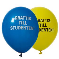 Grattis till studenten, 24 st ballonger