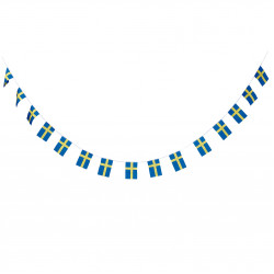 Svenska flaggan, banner (6 m)