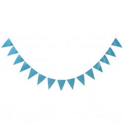 Babyblå banner, ca 3,6 m