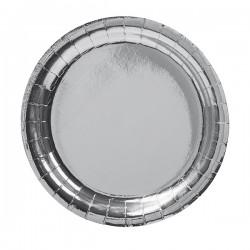 Silver, 8 st tallrikar (23 cm)