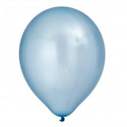 Ballonger, 8 st pärlemoblåa