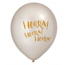 Hurra Hurra Hurra, 6 st ballonger