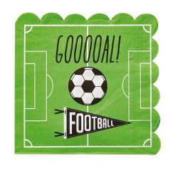 Fotboll - Goal, 16 st servetter