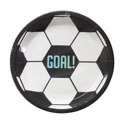 Fotboll - Goal, 8 st tallrikar