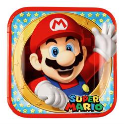 Super Mario, 8 st tallrikar