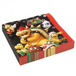 Super Mario, 20 st servetter