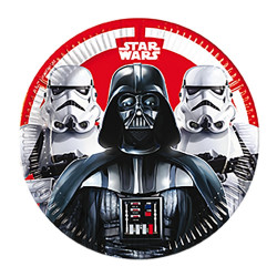 Star Wars, 8 st tallrikar