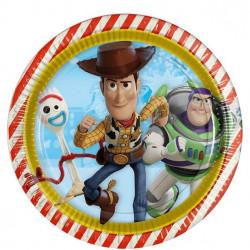 Toy Story 4, 8 st tallrikar