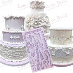 Royal Icing Decorations, silikonform (KD)