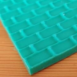 Tegelsten, mönstermatta i silikon (3180)