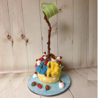 Start 20171125 - Gravity Ice Cream Cake, kurs