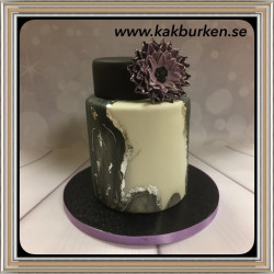 2019-05-19 - Marbled Cake, tårtkurs