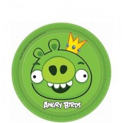 Angry Birds, 8 st gröna tallrikar