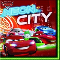 Blixten - Neon City, 20 st servetter