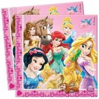 Disney Prinsessor, 20 st servetter
