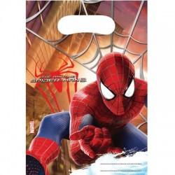 SpiderMan 2, 6 st kalaspåsar