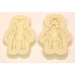 3D Nallebjörn, silikonform