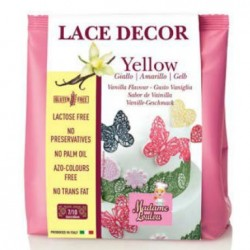 Lace Decor, 100g pulver (gul)
