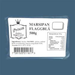 Marsipan, flaggblå 500g