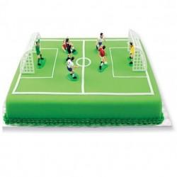 Fotboll, tårtdekoration (9 delar)