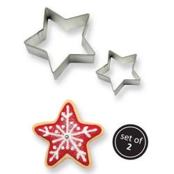 Stjärna, 2 st utstickare