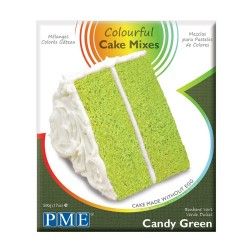 Tårtbottenmix, Candy Green