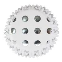 Polkadot - Silver dots, 30 st muffinsformar