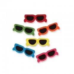 Solglasögon, 6 st ätbara dekorationer