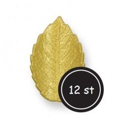 BF 20161126 - Blad (medium), ca 12 st guld