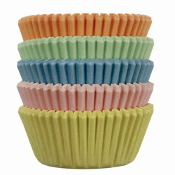 Pastel, 100 st små muffinsformar