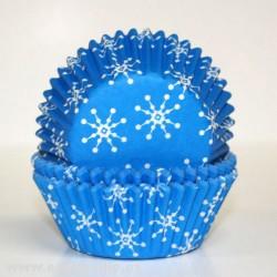 Snowflakes, 60 st muffinsformar