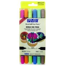 Livsmedelspenna - Bright, 6-pack (PME)